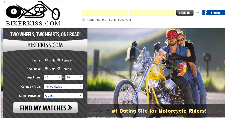 BikerKiss reviews including price, features and services for bikers