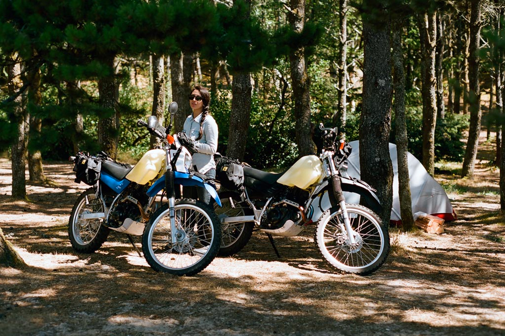 Have an adventurous and exciting motorcycle camping